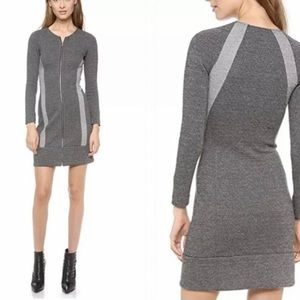 Theory Wool Blend Sweater Dress Chayenne Cityscape